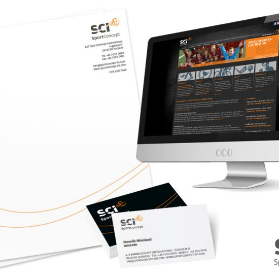 SCI - SportConcept grafisk identitet